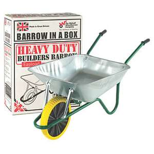 """Walsall"" branded puncture proof wheelbarrow £39.99 at screwfix (collection)"