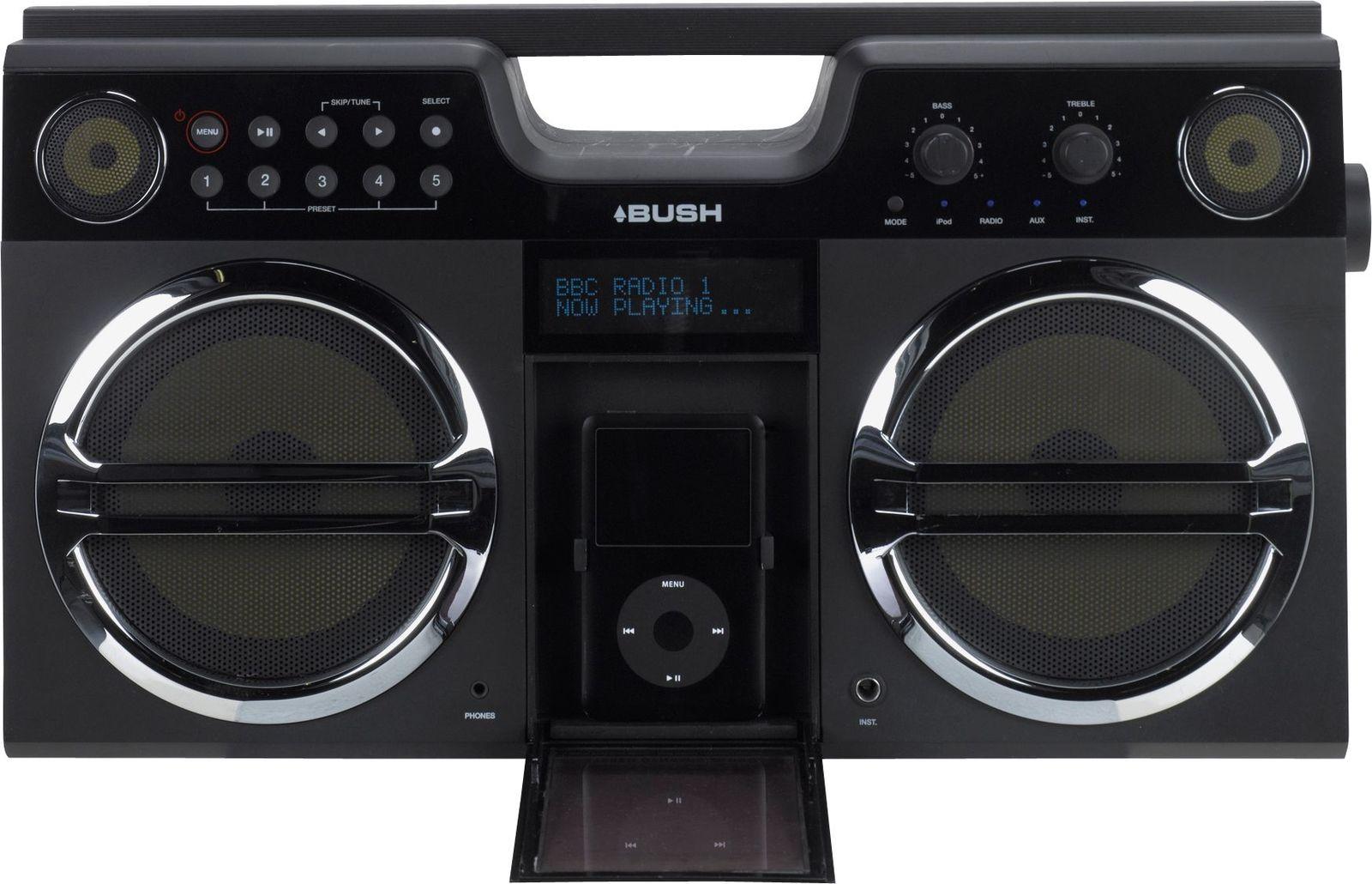 Bush Boombox With iPod Docking Station  £22.45  Argos eBay Store