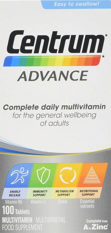 Centrum Advance Multivitamin Tablets (100) £7.36 (Prime) / £11.35 (non Prime) at Amazon