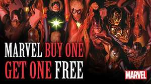 Comixology - Marvel digital comics Buy One Get One Free with MARVEL17 code 01 - 07/09