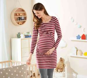 Heads Up - Lidl Launches first ever maternity collection with prices starting at £4.99 instore from 7th Sept (Dress in Pic £7.99)