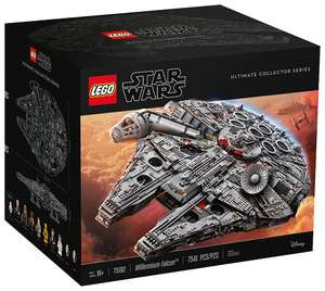 Lego Star Wars 75192 Ultimate Millennium Falcon - Largest Ever Lego Set - £649.99 at Lego Shop