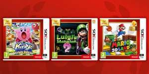 [Nintendo Selects] Luigi's Mansion 2, Super Mario 3D Land, Kirby Triple Deluxe 3DS £13.85 @ Base