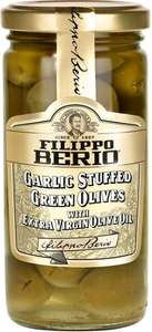 Filippo Berio Garlic Stuffed Green Olives (230g) was £2.89 now (Buy One get One Free)​ - Ocado