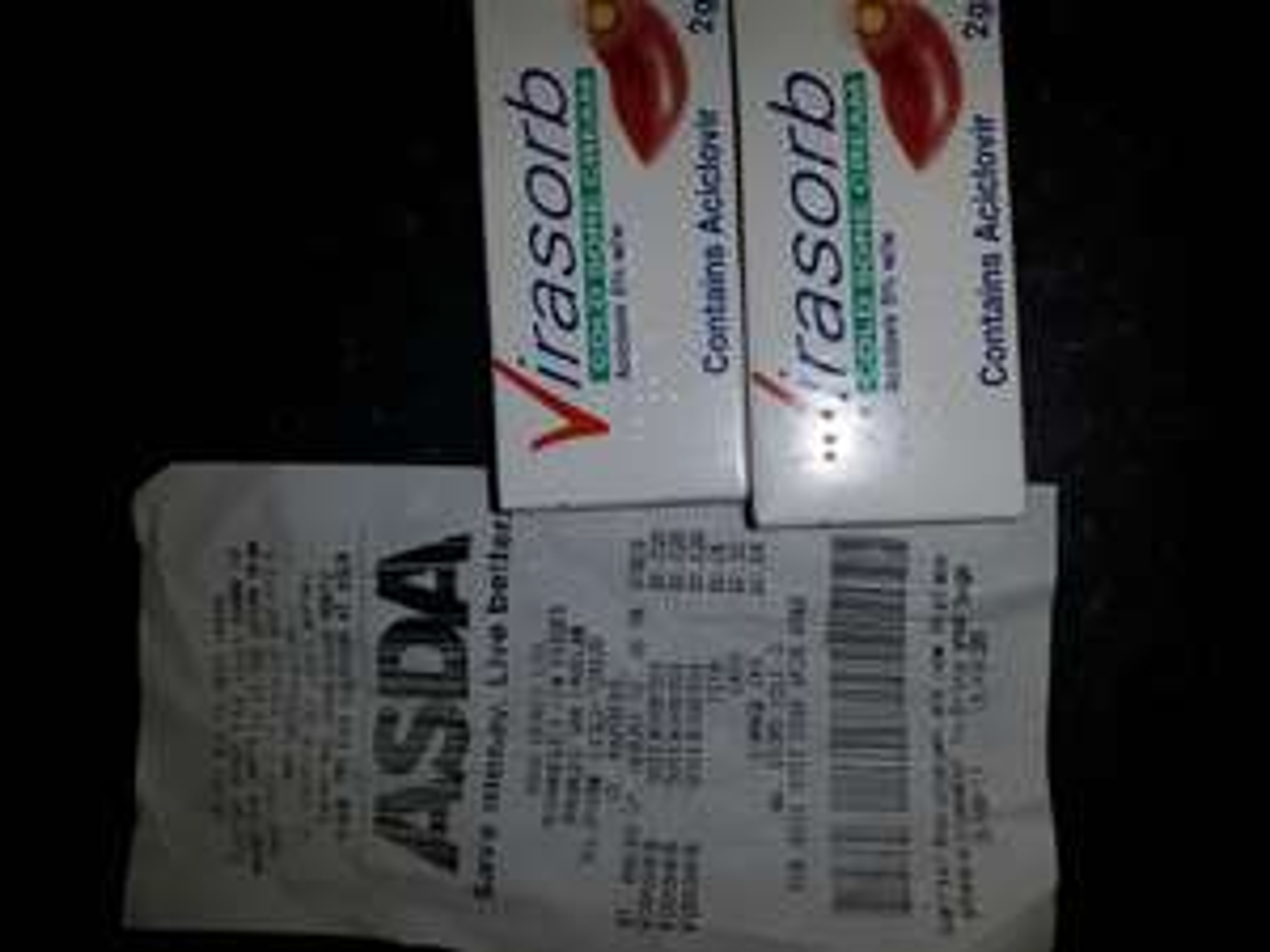 Virasorb cold sore cream 2p @ Asda Walsall