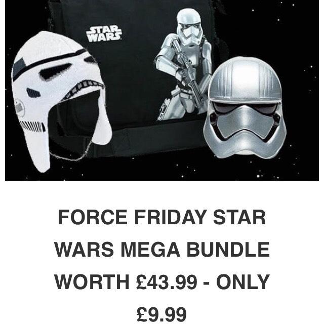 Star Wars bag, hat & money box £9.99 - iwantoneofthose