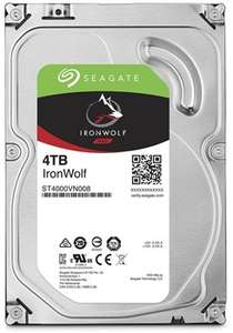 Seagate IronWolf 4TB NAS Drive - £109 w/ free delivery @ Box.co.uk