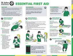 FREE - St John Ambulance First Aid Guide For Cyclists App IOS and Android and Free First Aid Guide App IOS and Android
