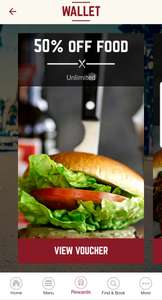 50% off food at Coast to Coast restaurants back on again using the app