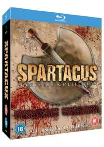 Spartacus: The Complete Collection (Blu-ray), £15.99 delivered from base.com