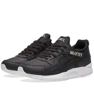 ASICS W GEL LYTE V BLACK  £35 (RRP £99) + £2.95 delivery @ End Clothing