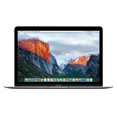 "Gold or Rose Gold Apple Macbook, 12"" Retina Display, 8GB RAM, 256GB Flash storage (2016 model, MLH72B/A) - £899.99 @ John Lewis"