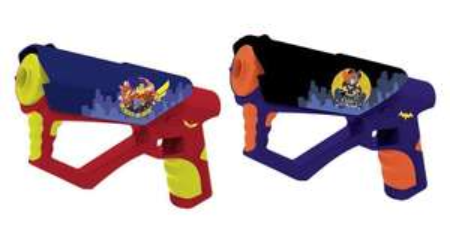 DC Super Hero Girls Laser Guns (RRP £24.99) £6.99 Delivered @Argos Ebay