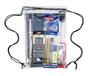 Branded Stationery essentials in a bag - was £25 now £9 @ Tesco direct (Free C&C)