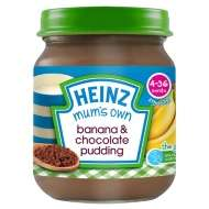 HEINZ Mum's Own baby 120g jars - 50p from B&M