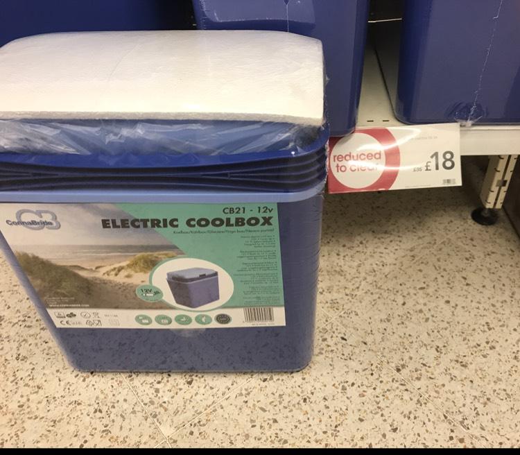 Electric cooler box - £18 instore @ Wilko (Horsham)