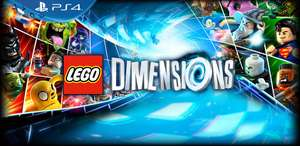 Various Wave One Lego Dimensions Fun Packs and Level Packs for Half Price - from £7.49 @ LEGO