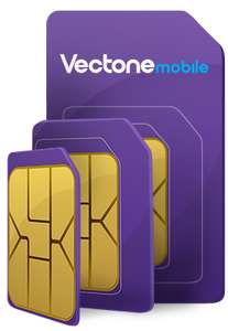 Vectone (EE) - PAYG (bundle) 200GB Unlimited mins/texts, 100 international mins when you top up £30 every 4 weeks