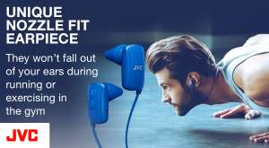 Headphones various /mymemory (JVC Gumy Wireless Bluetooth In-Ear Sports Headphones - Blue for £16.99)