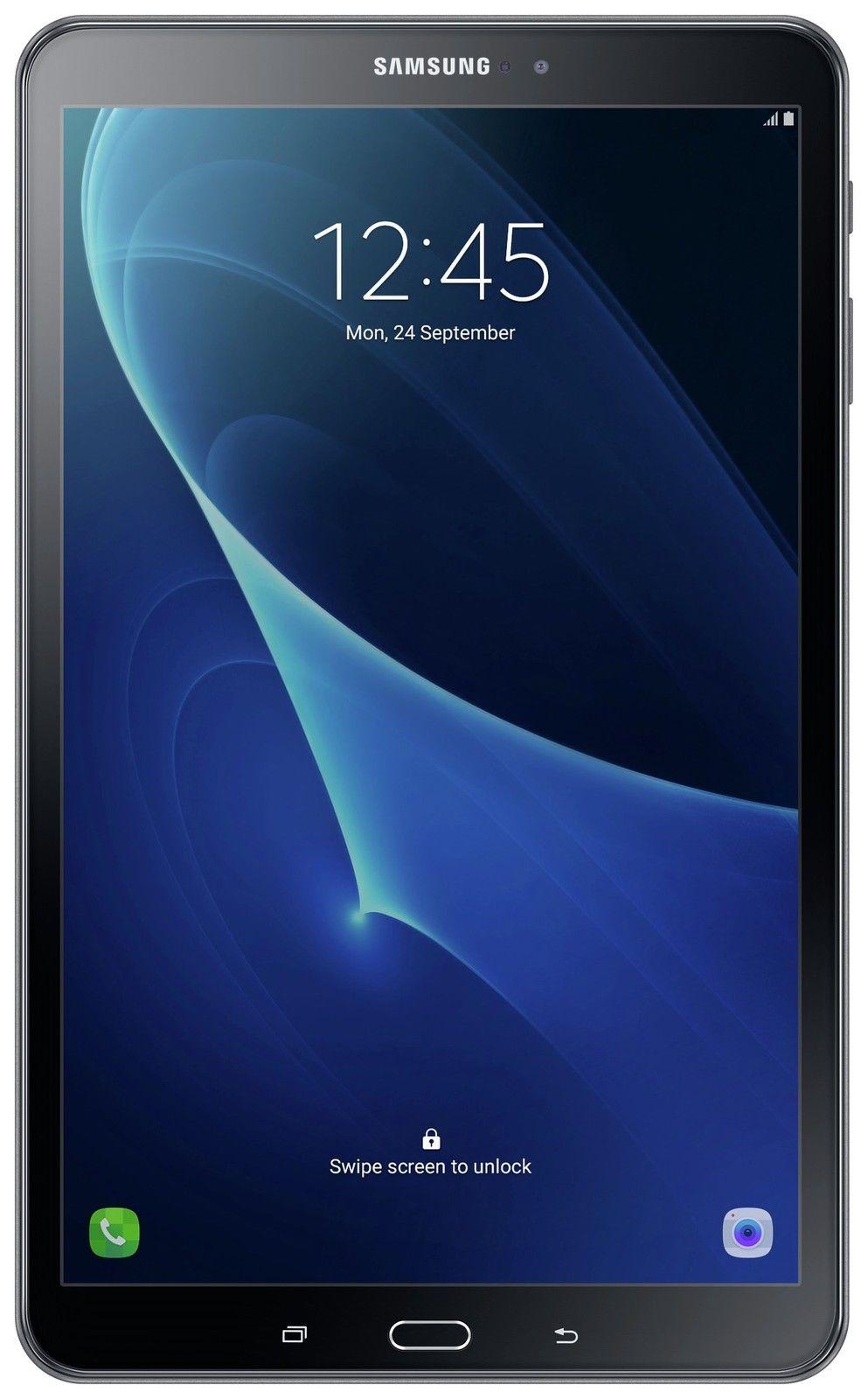 (refurb) Samsung Tab A 10.1 Inch 1.6GHz 2GB 16GB Wi-Fi Android 6.0 Tablet - Black at Argos Ebay for £124.99