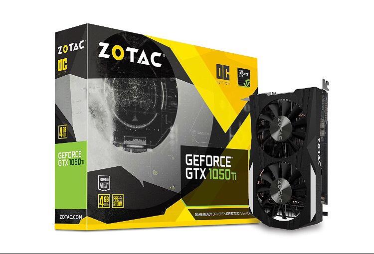 Zotac GeForce GTX 1050Ti 4 GB OC Graphics Card - Black - £139.97 @ Amazon