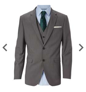 Gray tailored suit jacket Burton - £15.00 free c&c