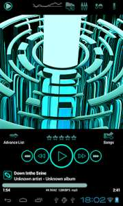 Free poweramp skin from Play Store (usually £1.09)
