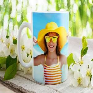 Personalised photo mug £2.78 delivered with code @ Printerpix