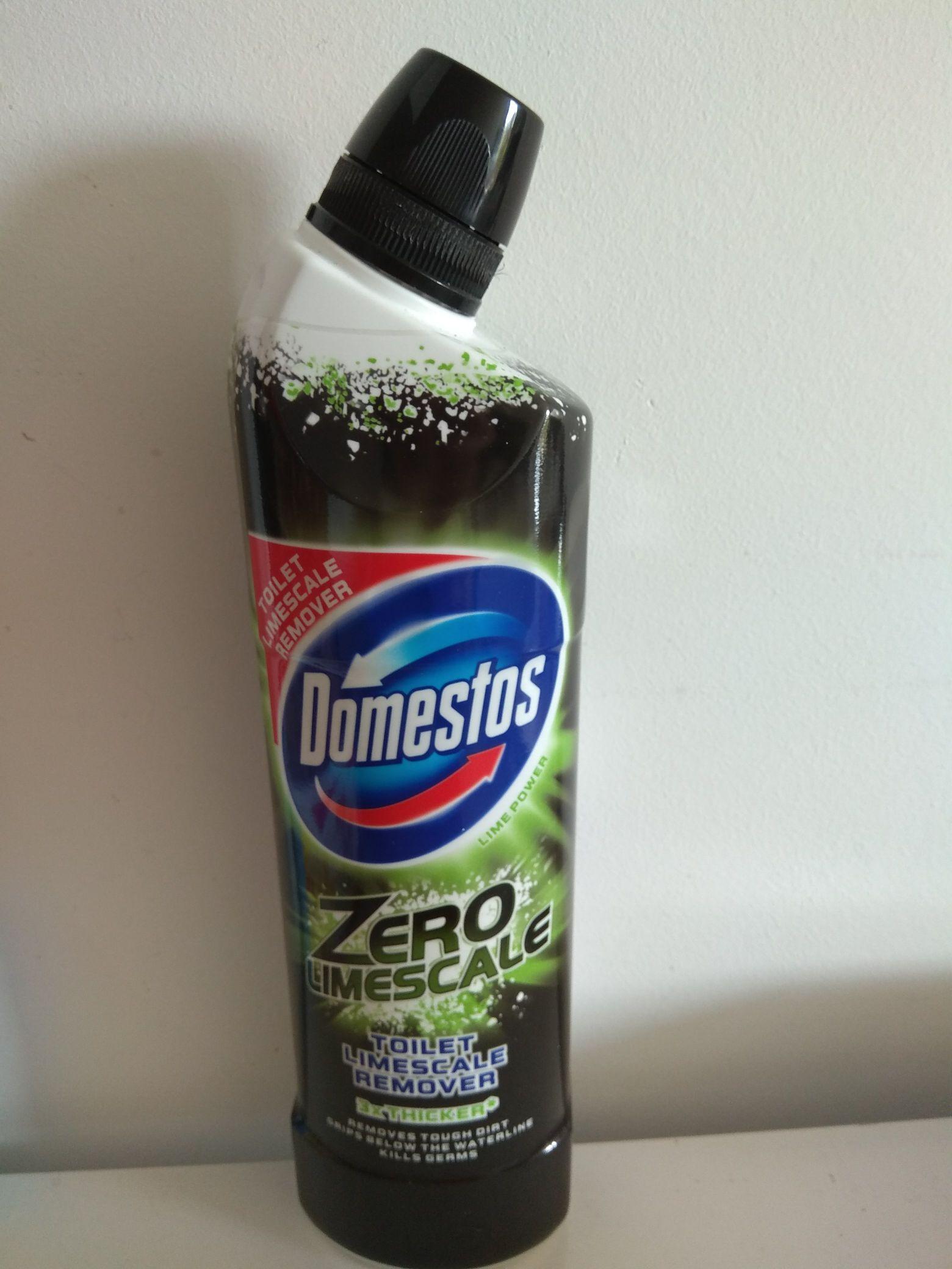 Domestos zero limescale, toilet limescale remover 75p from Waitrose