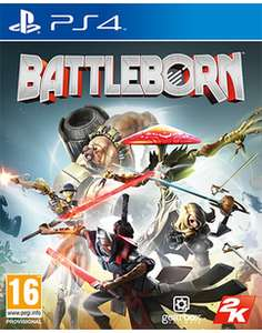 Battleborn PS 4 (Pre owned) £1.50 @ Game + £1.99 P&P