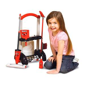Casdon Henry Toy Cleaning Trolley ONLY £12.99 @ Tesco Direct