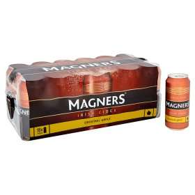 Magners Original Irish Cider (18 x 440 cans) was £11.00 now £9.00 (50p a can) (Rollback Deal) @ Asda