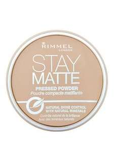 Rimmel Stay Matte Pressed Powder / Rimmel Lasting Finish Mono Blush Live Pink / Rimmel Lasting Finish Mono Blush Live Pink Rose £2.67 each + More on link @ Very (Free C&C)