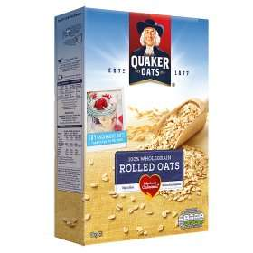 Quaker Porridge Oats, 1kg, 39p at Waitrose with cashback from Topcashback & GreenJinn, 40p at Sainsburys