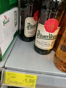 Pilsner Urquel - Best beer in the world - £1.50 instore @ Asda