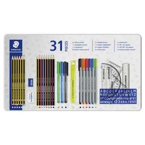 Back to School Staedtler 31 Piece Stationery Set was £22 now £8 at Tesco (free C&C)