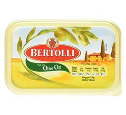 Bertolli 500g olive oil spread  £1 at tesco instore