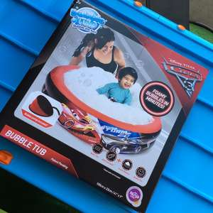 CARS 3 BUBBLE TUB REDUCED TO £7.50 INSTORE  £7.50 TESCO