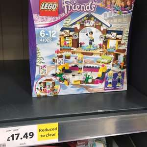 LEGO Friends Ice Rink £5 less than Amazon £17.49 @ Tesco Coventry Ricoh Arena