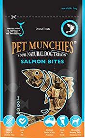Pet Munchies Salmon Bites 90g (Case of 8 ) £2.99 add on item / £2.84 S&S Amazon