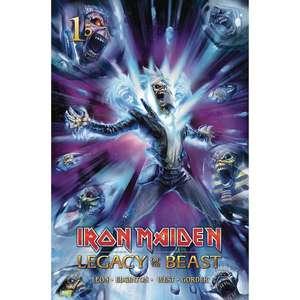 Iron Maiden Legacy Of The Beast Issue #1 First Edition Print (Cover A Casas - Signed Edition) SIGNED by Author Ian Edginton £3.35 @ Forbidden Planet