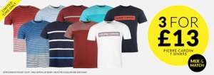 3 for £13 - Pierre Cardin T-Shirts @ Sports Direct (+ £4.99 Del + C+C (£5 voucher given if collected instore)