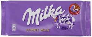 Milka Happy Cows 100g/ Milka Alpine Milk Chocolate 100g 50p @ Morrisons