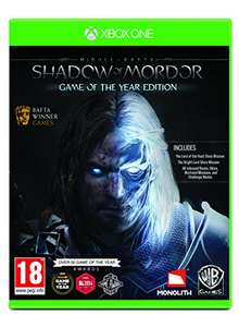 Shadow of Mordor: Game of The Year Edition (Xbox One) £9.85 (Prime) £11.84 (Non-Prime) Delivered @ Amazon