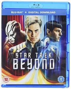 Star Trek Beyond (Blu-ray + Digital Download) [2016] [Region Free] £5 Prime / £6.99 Non Prime @ Amazon