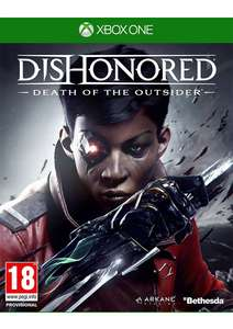 Pre-Order Dishonored: Death Of The Outsider Xbox One/PS4 £14.85 Simply Games.