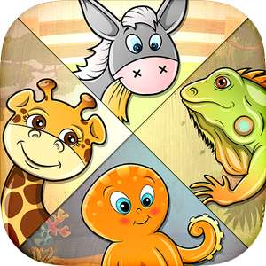 Kids Puzzle - learn 82 animals - Free (was £1.89) @ Google Play Store