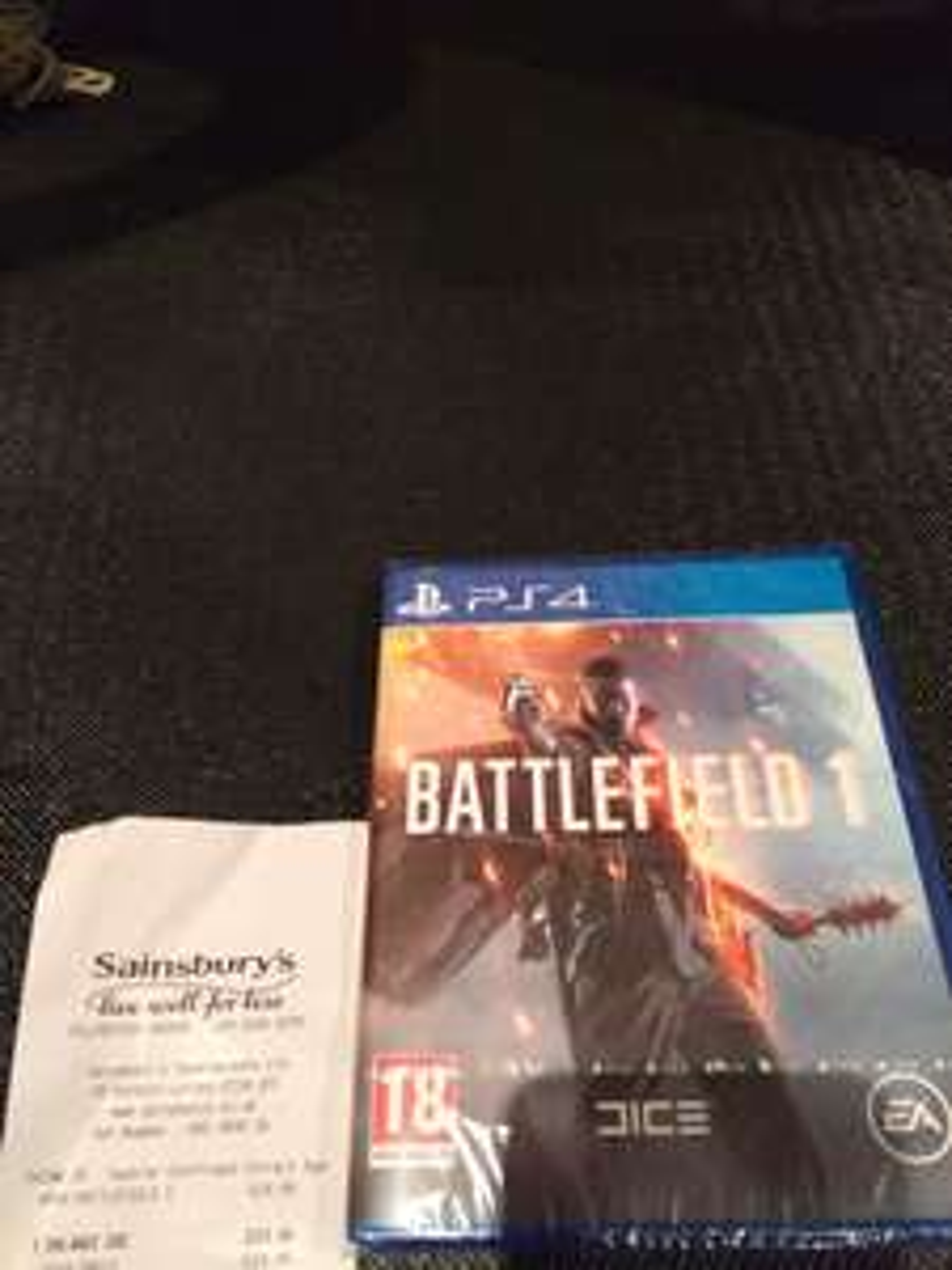 Battlefield 1 PS4 £25 @ Sainsbury's