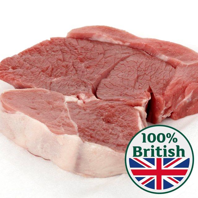 Cheap fresh lamb leg steak £13.20 per kg @ Morrison's