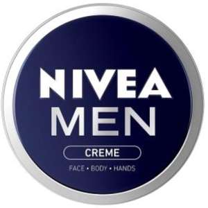 Nivea Men pack of 5 150ml creme £14 prime / £18.75 non prime @ Amazon